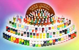 Aura Light Harmony Bottles