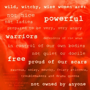 Wild, Wise, Witchy Women - Red