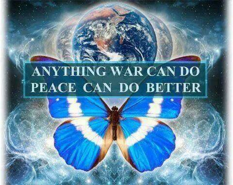 Peace better than war