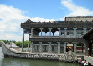 marble boat,summer palace