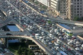 Traffic in modern Beijing